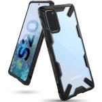 Ringke Fusion X Samsung Galaxy S20 hátlap, tok, fekete