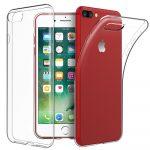 iPhone 7/8 Slim Case 1mm szilikon hátlap, tok, átlátszó