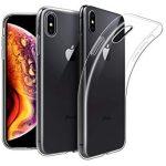 iPhone Xs Max Ultra Slim 0,5mm szilikon hátlap, tok, átlátszó