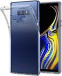 Samsung Galaxy Note 9 Slim 1mm szilikon hátlap, tok, átlátszó