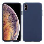 Huawei Huawei Y5 (2019)/Honor 8S Matt TPU szilikon tok, sötétkék