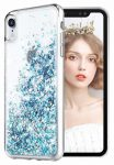 Liquid Sparkle Samsung Galaxy Note 10 Lite/A81 hátlap, tok, kék
