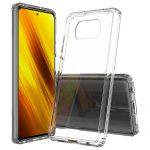 Xiaomi Poco X3 NFC Slim case 1mm szilikon hátlap, tok, átlátszó
