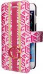 Guess iPhone 6Plus/6S Plus G-Cube oldalra nyíló tok, piros