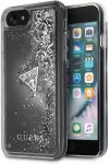 Guess Glitter Hard iPhone 6/6S/7/8/SE (2020) hátlap, tok, ezüst