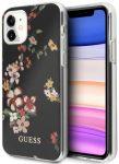 Guess iPhone 11 Flower Shiny N.4 hátlap, tok, mintás, színes