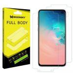 Wozinsky Samsung Galaxy S10e Full Body hydrogel Self-Repair 360° kijelző és hátlapvédő fólia, átlátszó