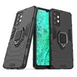 Armor Ring Samsung Galaxy A32 5G ütésálló hátlap, tok, fekete