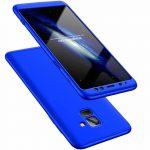 Full Body Case 360 Samsung Galaxy A8 (2018) A530 hátlap, tok, kék
