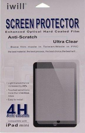 Iwill iPad Air/Air2 karcálló 4 rétegű kijelzővédő fólia , átlátszó