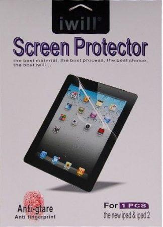 Iwill iPad Mini 1/2/3/4 ujjlenyomatmentes 4 rétegű kijelzővédő fólia, átlátszó