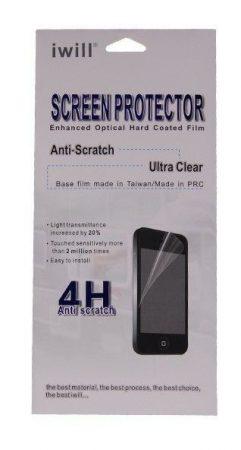 Iwill iPhone 5/5S/SE 4 rétegű kijelzővédő fólia, átlátszó