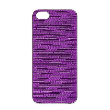 Iwill iPhone 5/5S/SE Crystal hátlap, tok, lila
