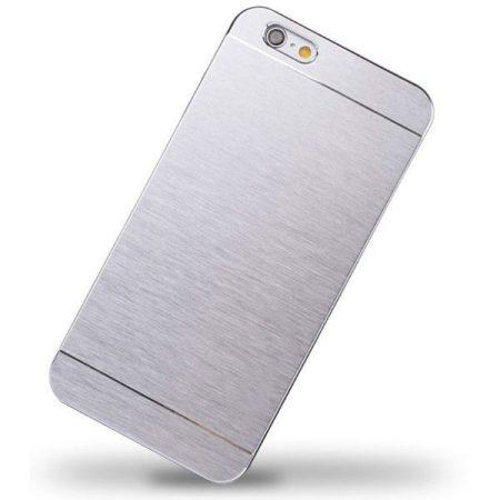 Iwill iPhone 6 Plus Classic aluminium tok, ezüst