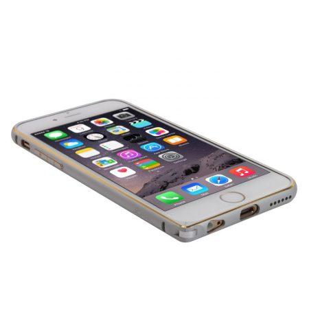 Iwill iPhone 6 Plus Double Color alu bumper tok, ezüst