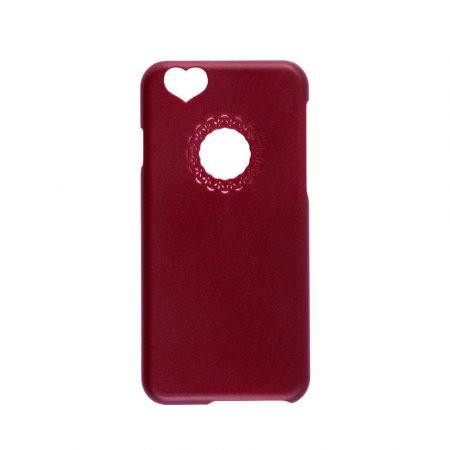 Iwill iPhone 6 Plus Girly hátlap, tok, piros