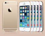 Apple iPhone 6 USAMS Slim 2in1 átlátszó szilikon TPU tok színes műanyag kerettel, ezüst