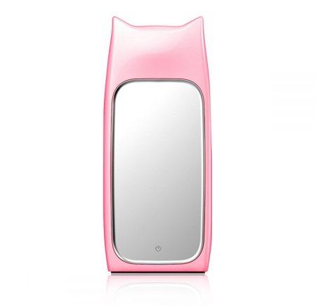 IWO P22 Rock Cat li-polimer Power Bank, hordozható külső akkumulátor, 5000mAh, rózsaszín