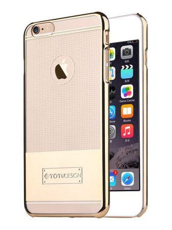 TOTU Jane series-remember case for iPhone 6 Plus tok, arany