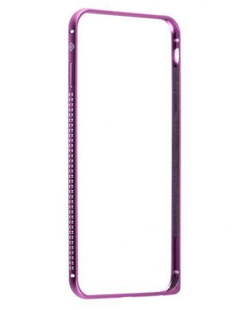 TOTU Mellow series-Shine version for iPhone 6 Plus tok, rózsaszín