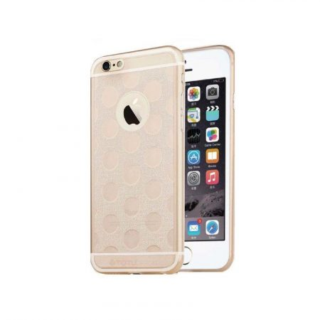 TOTU Soft series-honeycomb style for iPhone 6 Plus tok, arany