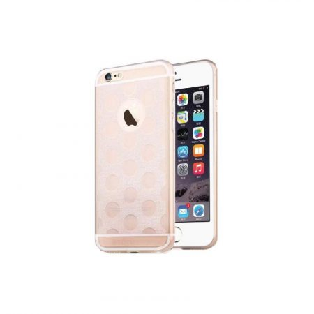 TOTU Soft series-honeycomb style for iPhone 6 tok, ezüst