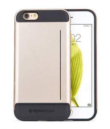 TOTU WIT SERIES for iPhone 6 tok, arany-fekete