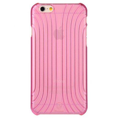 Baseus Shell iPhone 6 szilikon tok, rózsaszín