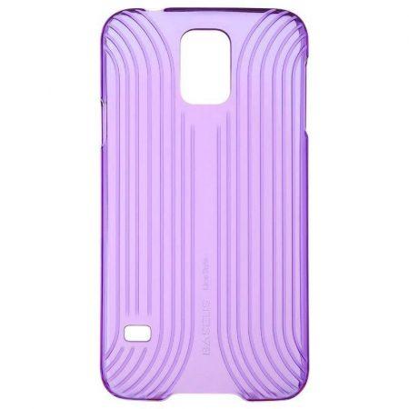 Baseus Line Style Samsung Galaxy S5 hátlap, tok, lila