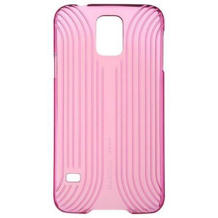 Baseus Line Style Samsung Galaxy S5 hátlap, tok, piros
