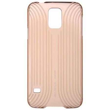 Baseus Line Style Samsung Galaxy S5 hátlap, tok, arany