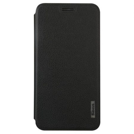 Baseus Primary Color Samsung G5108Q oldalra nyíló tok, flip tok, fekete