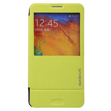 Baseus Folio Supporting Samsung Galaxy Note 3 tok, zöld