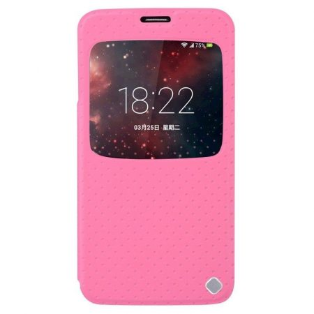 Baseus Finder Samsung Galaxy S5 oldalra nyíló tok, rózsaszín