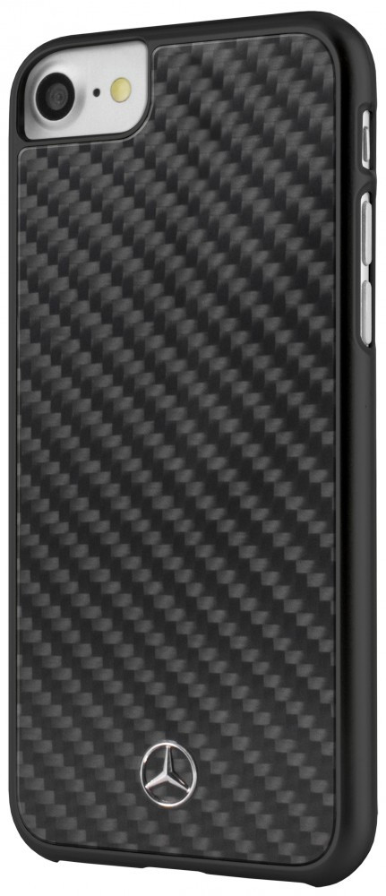 60c442b394 Mercedes-Benz iPhone 6 Plus/7 Plus/8 Plus Dynamic Real Carbon Fiber hátlap,  tok, fekete