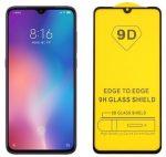 Samsung Galaxy A12 5D Full Glue teljes kijelzős edzett üvegfólia (tempered glass) 9H keménységű, fekete