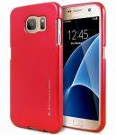 Mercury Goospery i-Jelly Samsung Galaxy A8 (2018) hátlap, tok, piros