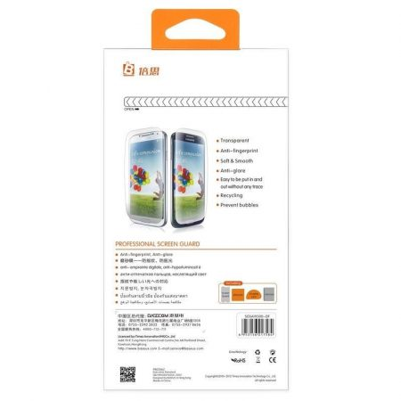 Baseus High Definition Screen Guard Samsung Galaxy S4 I9500 kijelzővédő fólia, átlátszó