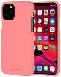 Mercury Goospery Soft Jelly Case iPhone 11 Pro Max hátlap, tok, rózsaszín