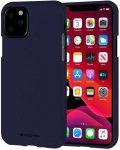 Mercury Goospery Soft Jelly Case iPhone 11 Pro hátlap, tok, sötétkék