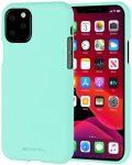 Mercury Goospery Soft Jelly Case iPhone 11 Pro Max hátlap, tok, menta zöld