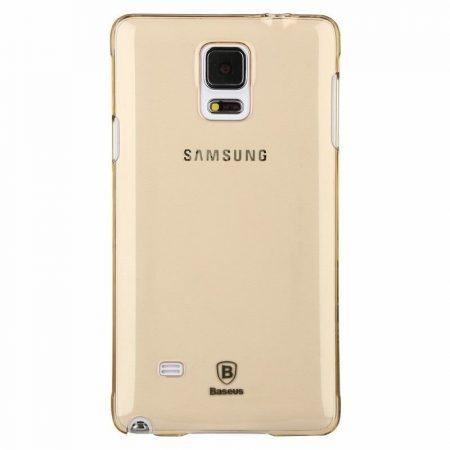 Baseus Sky Samsung Galaxy Note 4 hátlap, tok, arany