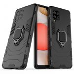 Armor Ring Samsung Galaxy A42 5G ütésálló hátlap, tok, fekete