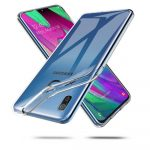 Tech-Protect Flexair Samsung Galaxy A20E szilikon hátlap, tok, átlátszó