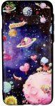 3Dart Planets Samsung Galaxy A7 (2018) A750 hátlap, tok, mintás, színes
