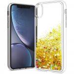 Liquid Case Samsung Galaxy A10 hátlap, tok, arany