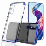 Slim Case Elegance Nokia 4.2 szilikon hátlap, tok, átlátszó-kék