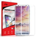 Zizo Full Covered Edge to Edge Samsung Galaxy S8 Plus teljes kijelzős 3D edzett üvegfólia, tokbarát, átlátszó