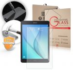 Samsung Galaxy Tab A T555 9,7 colos LCD Glass Screen kijelzővédő edzett üvegfólia (tempered glass) 9H keménységű, átlátszó