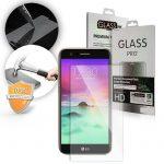 LCD Glass Screen edzett üvegfólia (tempered glass) 9H keménységű, LG K8 (2017)